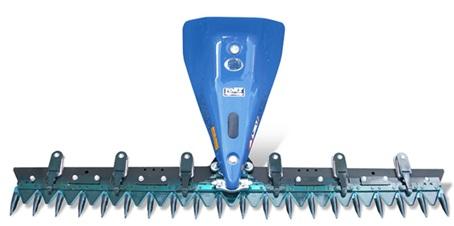 کاتربار دوبلکس یا دو چاقویی، کاتربار دوقلو، کاتربار سنگلاخی، Duplex cutter bar