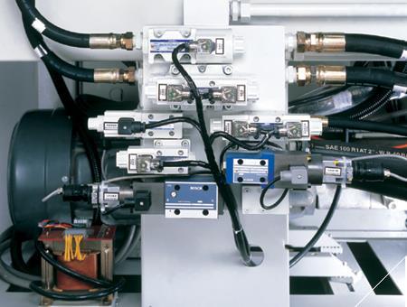 اجزای سیستم هیدرولیکی دستگاه تزریق پلاستیک