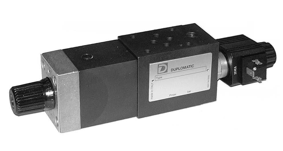شیر الکتریکی کنترل جریان مدولار (گزینش سرعت ) RLM3 دوپلوماتیک