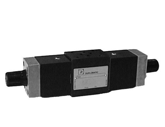 شیر کنترل جریان مدولار RPC1M دوپلوماتیک