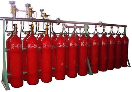 سیستم اطفا حریق گاز های نجیب