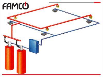 طراحی سیستم اطفاء حریق