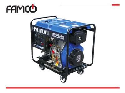 موتور برق دیزل تک فاز Hyundai