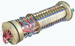 الکتروموتور القایی سه فاز قفس سنجابی با روتور سیم پیچی شده
