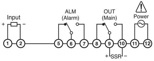 دیاگرام اتصالات سنسور هانیانگ سری BR6
