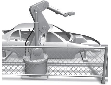تشخیص حرکت بازوی ربات های جوش
