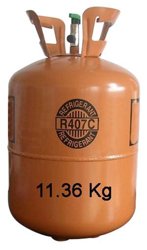 گاز مبرد R-407c