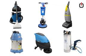 ماشین آلات و تجهیزات نظافتی صنعتی