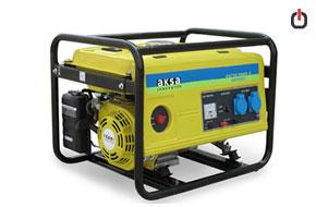 موتور برق بنزینی Aksa