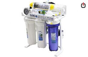 تصفیه آب خانگی 6 مرحله ای CCK