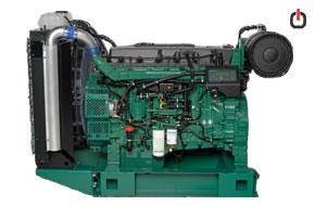 موتور دیزلی ولوو پنتا TAD1343GE