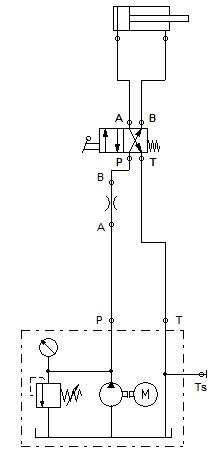 نقش فلوکنترل در یک مدار هیدرولیک