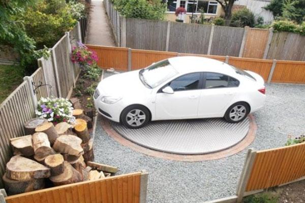 صفحه گردان ماشینی پارکینگی