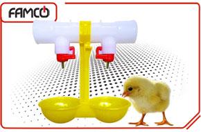 سیستم آبخوری مرغداری و انواع آن