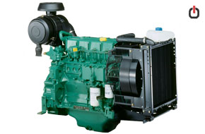 موتور دیزل ولوو پنتا TD520GE