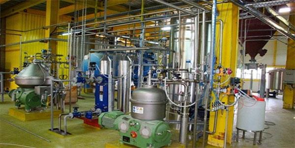 ماشین آلات تولید روغن حوراکی