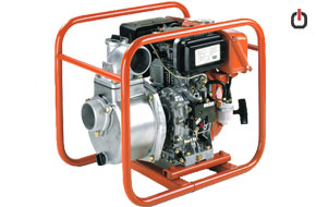 موتور پمپ دیزلی Robin